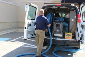 911 Restoration sewage backup cleanup South Central Pennsylvania