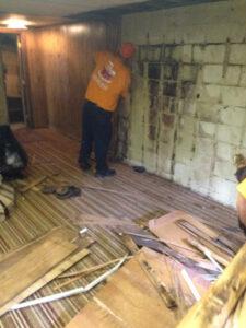 911 Restoration - mold removal- Waynesboro -mold in basement